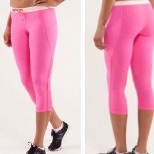 Lululemon Hot Pink Leggings